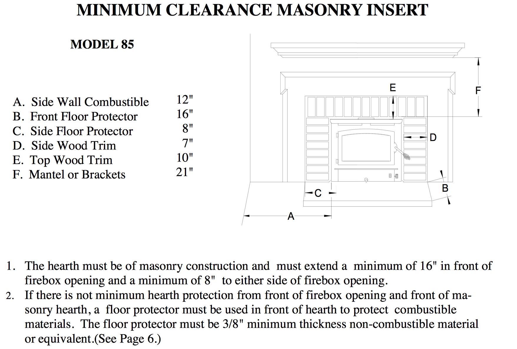 wood stove manuals. wayne dickerson landscaping llc june 2014 ...