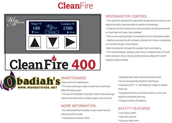 WoodMaster CleanFire EPA Outdoor Wood Boiler by Obadiah\'s Woodstoves