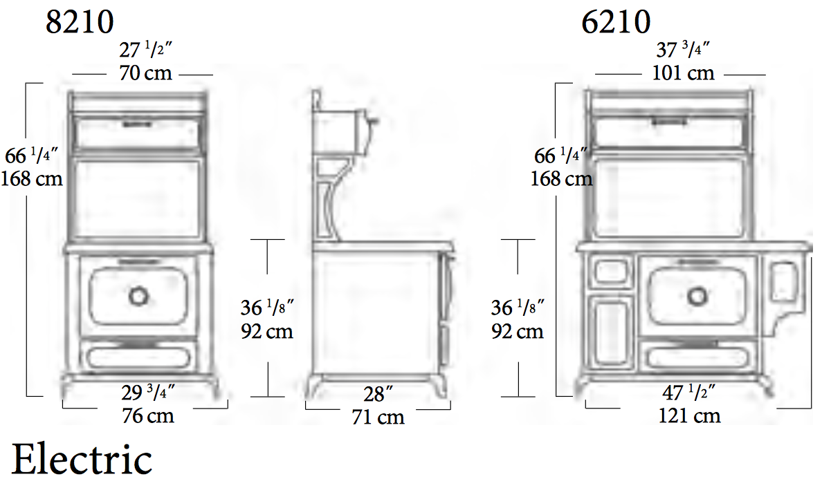 714ea80ce39 Electric Range  Electric Range Dimensions