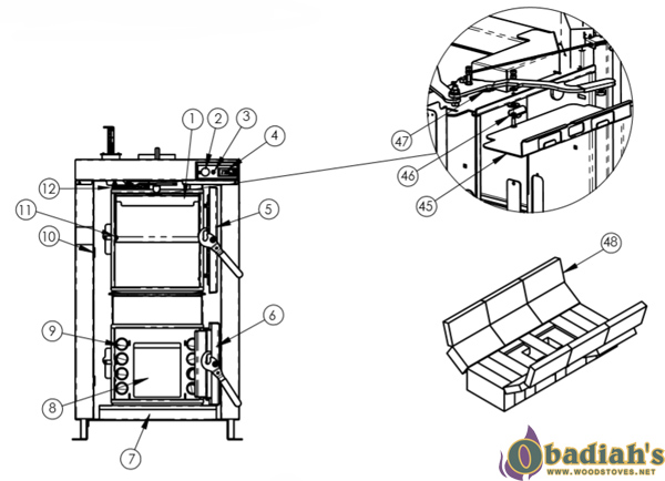 wood furnace wiring diagram outdoor