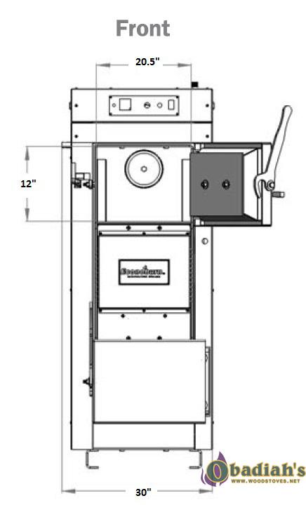 Econoburn Ebw200 170 Epa Indoor Wood Gasification Boiler