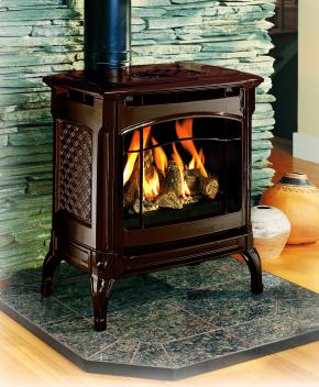 Hearthstone Champlain 8301 Cast Iron Direct Vent Gas Stove