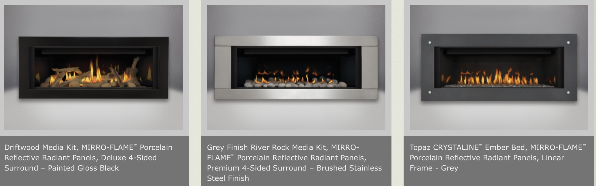 napoleon lhd45 linear direct vent gas fireplace by obadiah u0027s