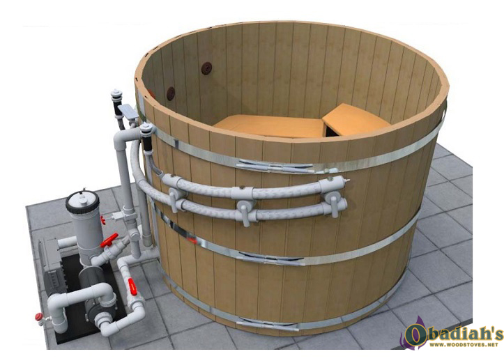Northern Lights Classic Cedar Ht8 Hot Tub By Obadiah S