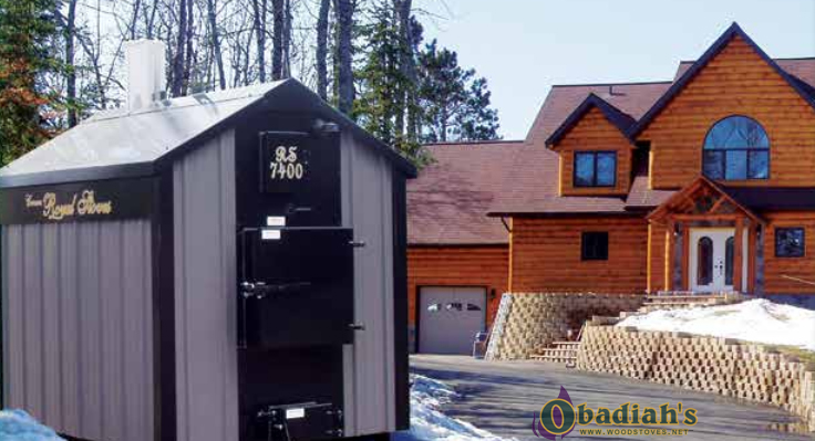 Crown Royal Rs Series Outdoor Coal Boiler By Obadiah S