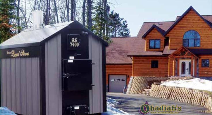 Crown Royal Rs Series Outdoor Coal Boiler At Obadiah S