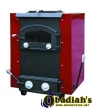 DS Stoves DS2100WH Basement Coal Stove