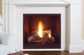Majestic Onyx Direct Vent Gas Fireplace - Discontinued