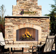 Astria Oracle / Superior WRE4500 Indoor/Outdoor Wood Fireplace