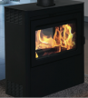 Supreme Vision See-Thru Wood Stove