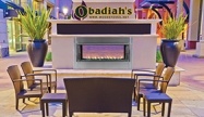 Astria Berlin Lights / Superior VRE4543 Vent Free Outdoor Gas Fireplace