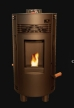 SP7000FS Breckwell Solstice Pellet Stove - Discontinued