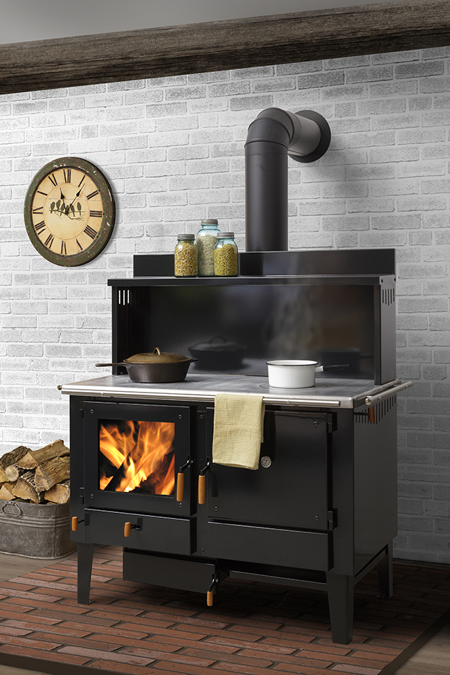 Obadiah's 2000 Wood Cookstove by heco