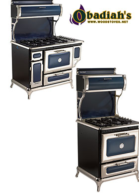 Heartland Dual Fuel Gas Top / Electric Oven Cookstove