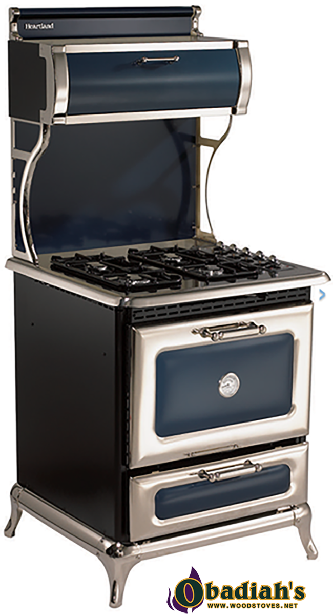 heartland dual fuel gas top electric oven cookstove by obadiah 39 s woodstoves. Black Bedroom Furniture Sets. Home Design Ideas