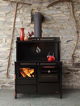 420 Heco Wood & Coal Cookstove