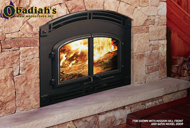 Quadrafire 7100 Zero Clearance High Efficiency Epa Wood Fireplace By Obadiah 39 S Woodstoves