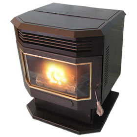 America's Heat B-100 High Efficiency Pellet Stove
