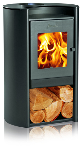 Amesti Rondo 450 EPA Contemporary Wood Stove