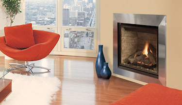 Elite Louverless Astria Gas Fireplace