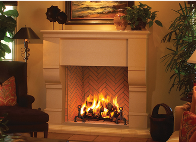 Astria Plantation Fireplace - Discontinued