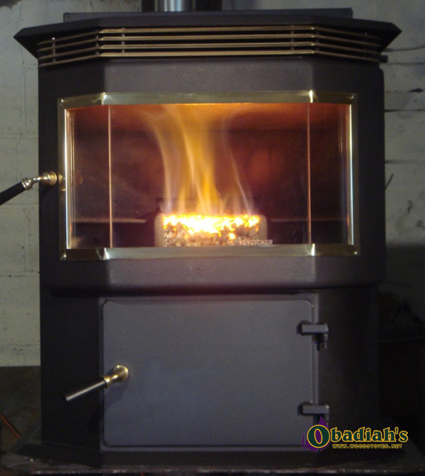 Keystoker Baywindow 75,000 Coal Stove