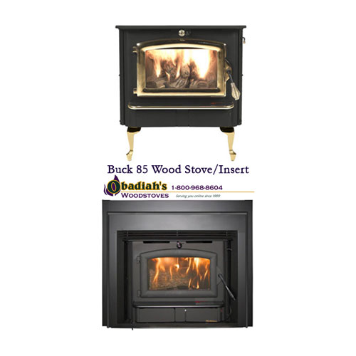 Buck Premier Series 85 Stove Or Insert By Obadiah S Woodstoves