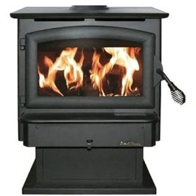Model FS21 Non-Catalytic Buck Wood Burning Stove - Discontinued