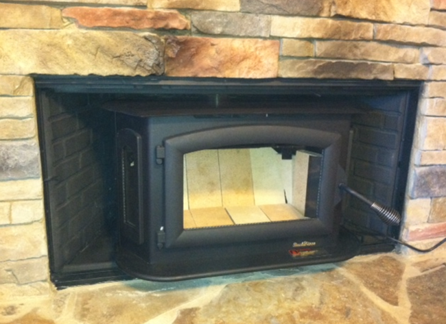 Wood Stove Insert For Prefab Fireplace