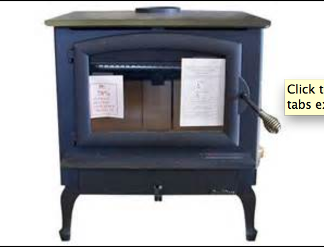 Buck 74ZC Non-Catalytic Stove