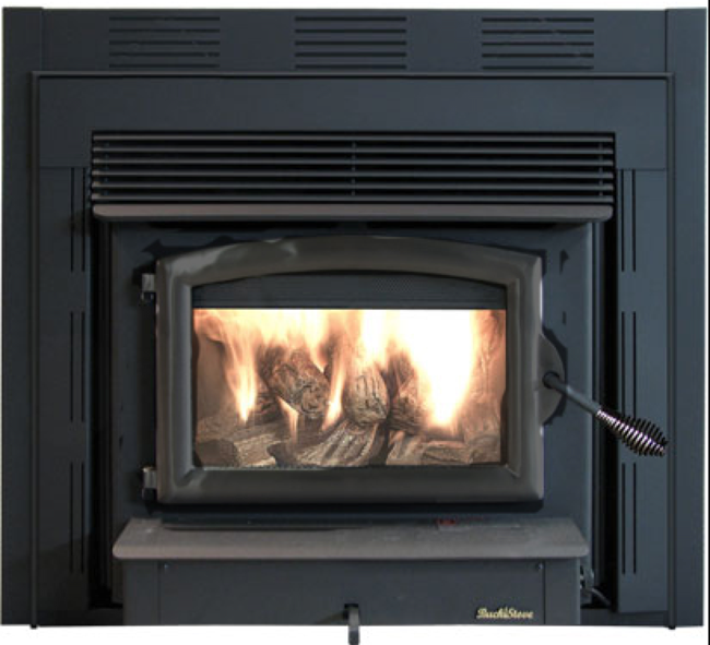 pellet stove fireplace inserts