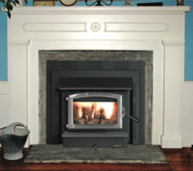 The Buck 74ZC Non-Catalytic Stove fits any home