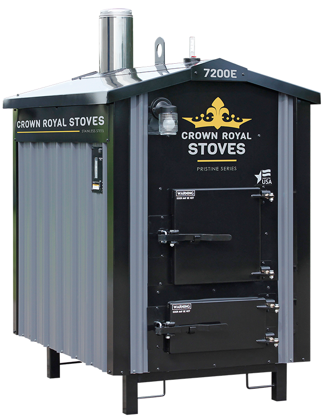 Crown Royal RS7200E EPA Outdoor Wood Gasification Boiler