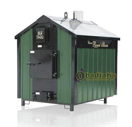 Crown Royal Pristine Outdoor  Wood Furnace RS7400