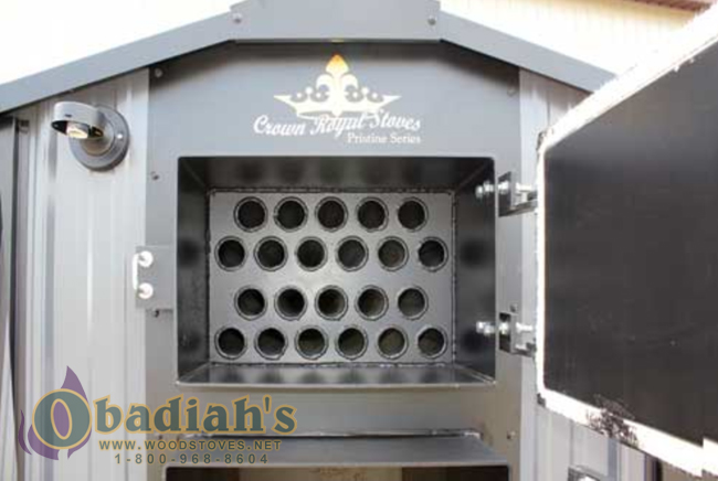 Crown Royal Pristine Outdoor  Wood Furnace