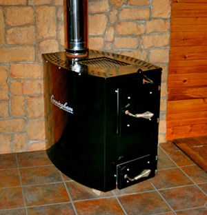 Cunningham 203 Amish Made Wood Stove - Not Available