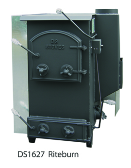 DS Machine Stoves DS1627 Riteburn Basement Stove