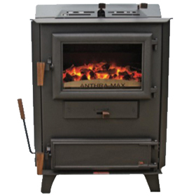 DS Stoves Anthra-Max DSXV15 Coal Stove