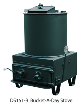 DS Machine Stoves DS151 Bucket_A_Day Coal Boiler