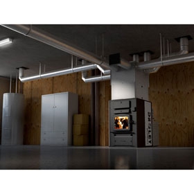 Drolet Heatmax II Wood Burning Furnace - Discontinued
