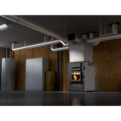 Drolet Tundra II Wood Burning Furnace - Discontinued