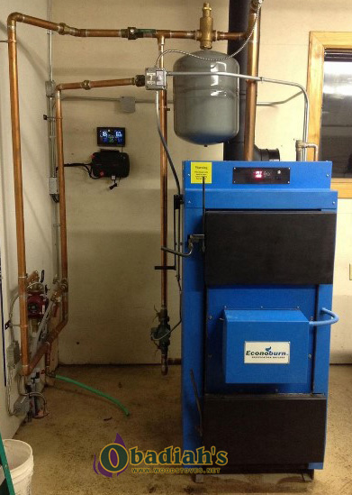 Econoburn 170-200 EPA Qualified Indoor Wood Gasification Boiler - Installation
