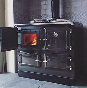 Esse 990 Triple Oven Wood Cook Stove