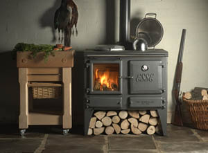 Esse Ironheart Cookstove by Obadiahs Woodstoves