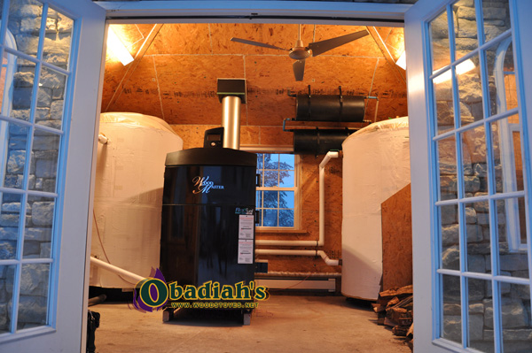 WoodMaster Flex Fuel Wood/Pellet Commercial Boiler