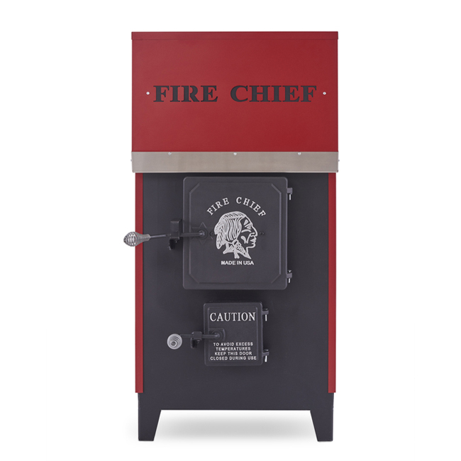 Fire Chief Model 1500 EPA Certified Wood Burning Indoor Furnace by HY-C