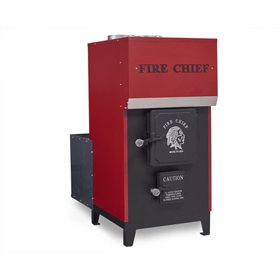 Fire Chief Model 1500 EPA Certified Wood Burning Indoor Furnace by HY-C - Discontinued