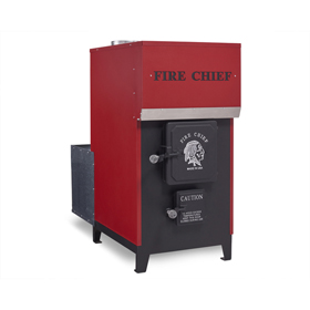 Fire Chief Model 1700 EPA Certified Wood Burning Indoor Furnace by HY-C - Discontinued