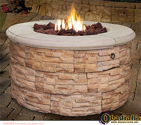 Astria Firestar Outdoor Gas Fire Pit - Discontinued