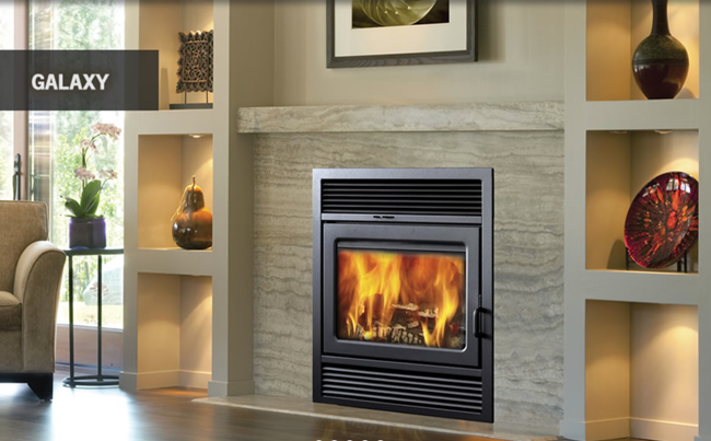 Supreme Galaxy Wood Fireplace